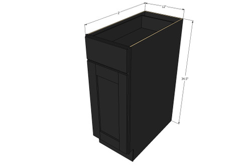 ... Base Cabinet With 12 Inch Door U0026 Drawer. Image 1