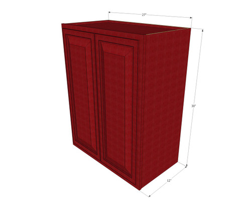 ... Wall Cabinet   27 Inch Wide X 30 Inch High. Image 1