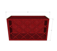 Grand Reserve Cherry Wine Rack