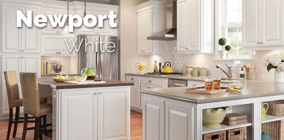 Tuscany White Maple Kitchen Cabinets - Tuscany White Maple ...