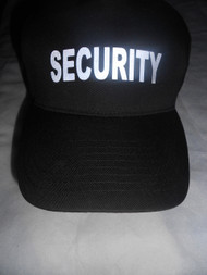 Reflective  Black Cap -  Security