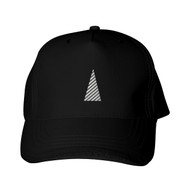 Reflective Black Cap  Triangle - Segmenta