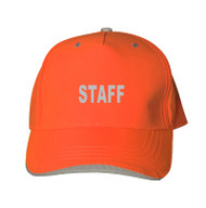 Reflective Neocap - Staff - Orange