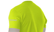 Sidegraph Reflective T-shirt -  Runner - Safety Green