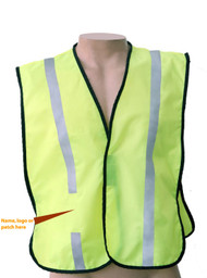 Non Ansi  Reflective  safety vest -Vestbadge / Customizable