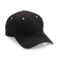 Reflective  baseball cap - No graphic black