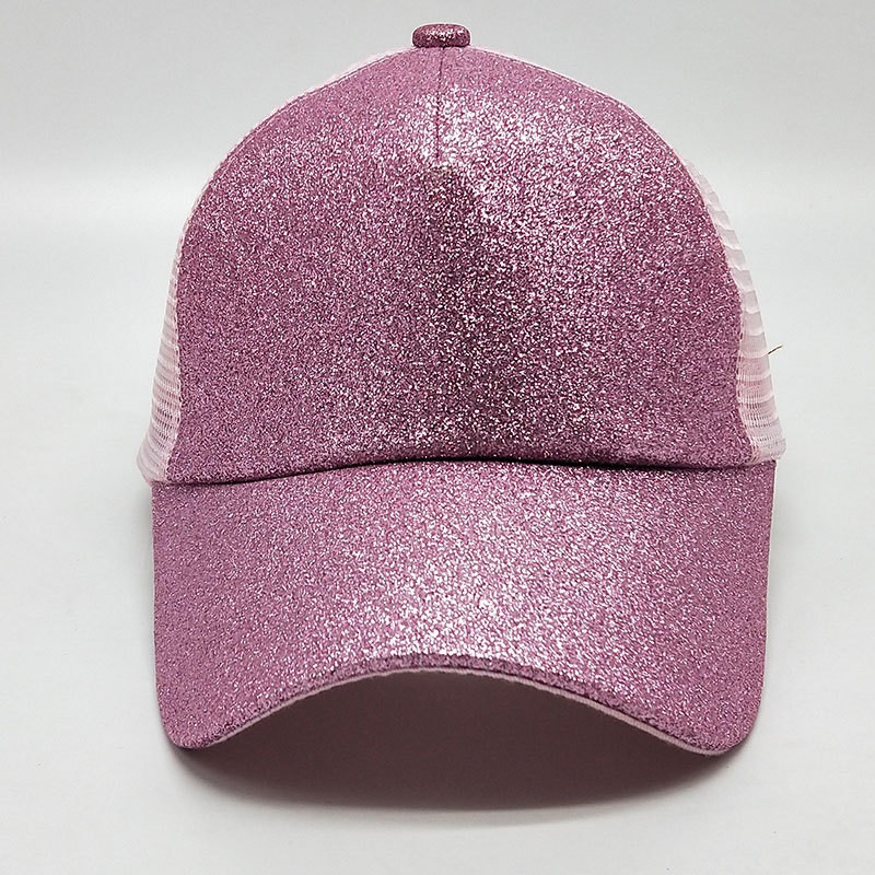 bace5e63d34520 ... Women Glitter Ponytail Baseball Cap - Pink - On Sale. Image 1