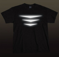 Triple Wings  Solid -  Reflective