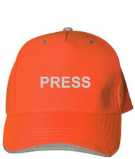 Reflective Neocap -  Press - Orange