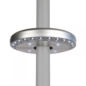 Central Pole Light Disc