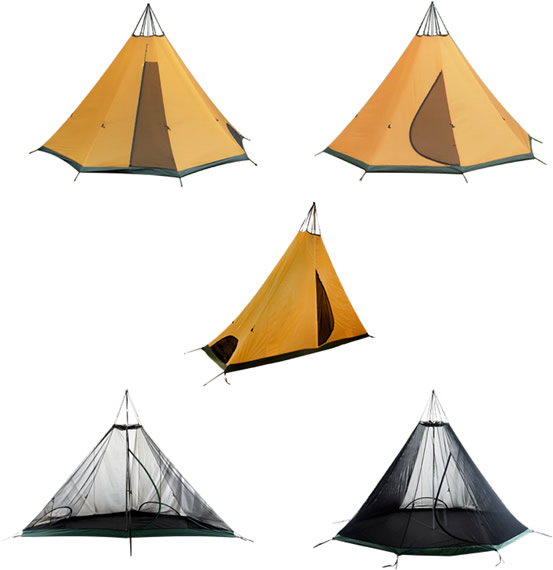 Inner Tent Solo Pitching Kit used on these models