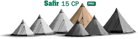 Safir 15 CP Tentipi Large Tent image