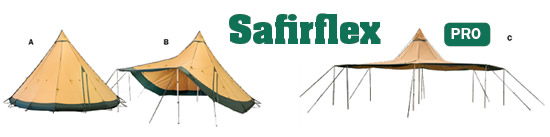 Safirflex 15 CP Tentipi Large Tent for Events