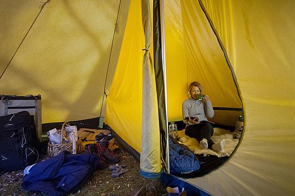Tentipi half inner tent