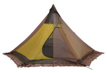 Olivin 2 backpack tent with opacity set to transparent to see inner-tent