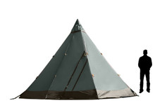 Safir 9 Light tent rendering with person for perspective