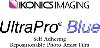 UltraPro Blue Self Adhering Photo Resist Film