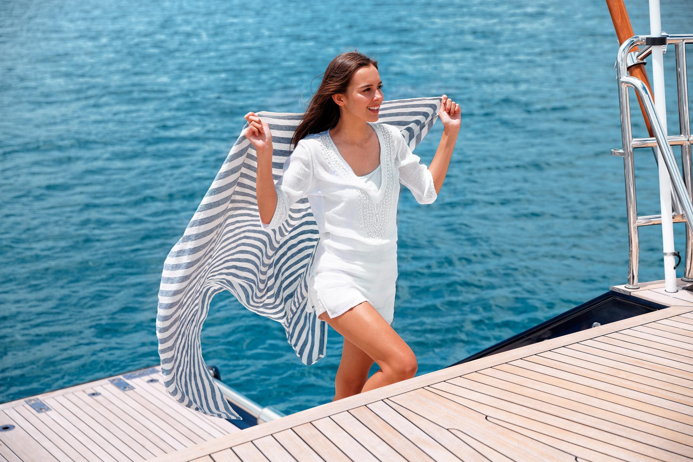 Laguna Linen Towel