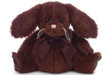 Chocolate Puff Plush Bunny by Bearington Bears