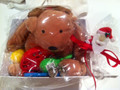 Plush Reindeer Musical Gift Basket
