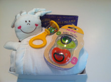 New Baby Gift Blanket Set
