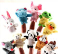 Animal Finger Puppets set of 10