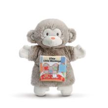 Five Little Monkeys Puppet and Book
