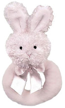 Lil Bunny rattle by Bearington Bears pink