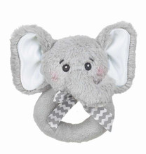 Bearington Bear Lil' spout elephant ring rattle
