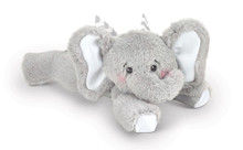 Baby Spout Elephant plush rattle toy by Bearington