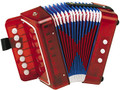 Accordion-Children's Toy-Red