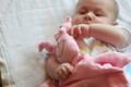 Muslin Cotton Doll Lovey-Pink