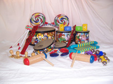 classroom set of percussion instruments