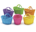 Willow Baskets in Pastel colors