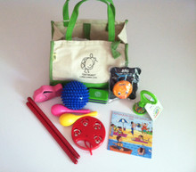 Got Music! Music Instrument Gift Set in Canvas bag