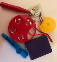 Set of 5 Toddler Music Instruments