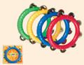 "Tambourine- 8"" Colorful"