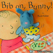Bib On, Bunny! Board Book