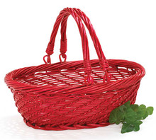 Red willow basket