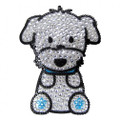 Love Your Breed Maltese - Boy Rhinestone Bling Sticker