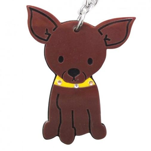 Chihuahua Acrylic Keychain