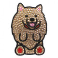 Love Your Breed Pomeranian- Rhinestone Sticker