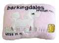 """Barkingdales"" Premier Pooch Squeaky Plush ""Credit Card"" Pet Toy"