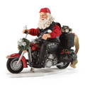 Boughs of Harley - Santa On Harley Davidson