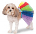 Rubies Rainbow Tutu Dog Halloween Costume S/M