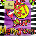 "Set of 20 ""Get Your Merry On"" Christmas Holiday Cocktail Napkins"