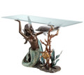 Mermaid and Undersea Friends Console Table by SPI