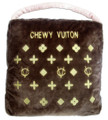 Chewy Vuiton Purse Plush Pet Dog Bed