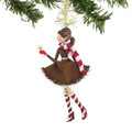 Phoebe Peppermint Martini Ornament by Department 56