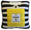 Chewnel #5 Novelty Plush Pet Dog Bed Parody on Chanel #5